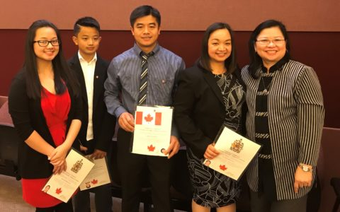 Milagros Becomes a Canadian Citizen