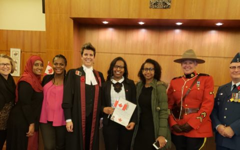 Rozit Becomes a Canadian Citizen
