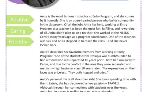 Every month, we celebrate AMI-versaries of our colleagues and friends who joined Altered Minds's team during that month. June is Anita Sharma's AMI-versary month. Learn more about this wonderful teacher, and write a comment below if you enjoyed her class.